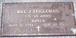 Corp Bill J Stigleman