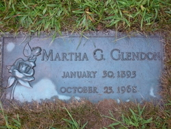 Martha G Glendon