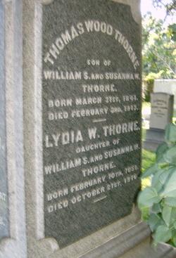 CPT Thomas Wood Thorne
