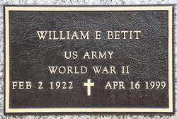 William E Betit
