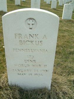 Frank A Bickus