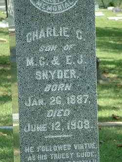Charles Columbus Snyder