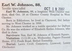 Earl W. Johnson