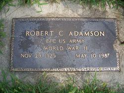 "PFC Robert C. ""Bob"" Adamson"