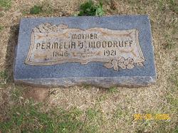 Permelia Jane <I>Welch</I> Woodruff