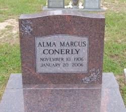 """Alma """"Memie"""" <I>Marcus</I> Conerly"""