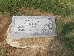 """Mary Elizabeth """"Mollie"""" <I>Shores</I> Arnold"""