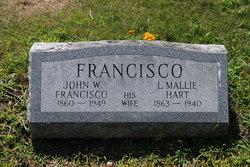 Lydia Mallie <I>Hart</I> Francisco