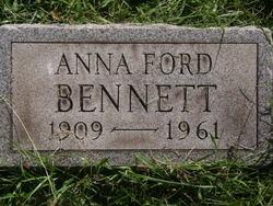 Anna <I>Ford</I> Bennett