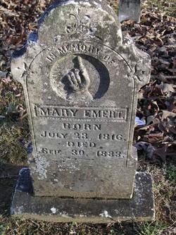 """Mary Elizabeth """"Eliza"""" <I>Maples</I> Emert"""