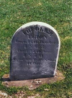 Dr Frederick Treon, Jr