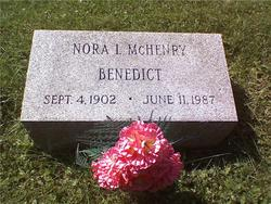 Nora Leila <I>McHenry</I> Benedict