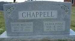 "Clara Louise ""Stingy"" <I>Poole</I> Chappell"
