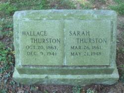 Sarah <I>MacLean</I> Thurston