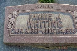Fannie <I>Johnson</I> Whiting