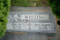 Helen <I>Salisbury</I> Whiting