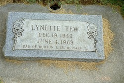 Lynette Tew