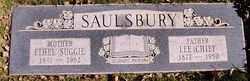 """Ethel """"Suggie"""" Saulsbury"""