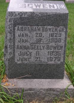 Anna <I>Seely</I> Bowen