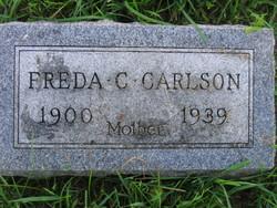 Freda C. <I>Lutter</I> Carlson