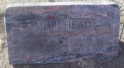 Mary A. Morehead