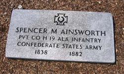 Pvt Spencer Montague Ainsworth