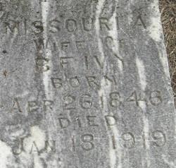 Missouri Ann <I>Gotcher</I> Ivy