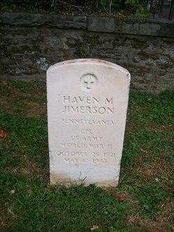 Haven M Jimerson