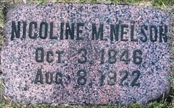 Nicoline Marie <I>Jakobsen</I> Nelson