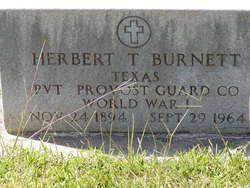 """Herbert T. """"Hub"""" Burnett"""