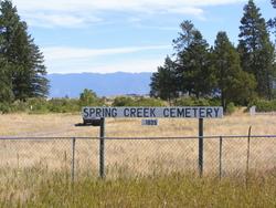 Spring Creek Cemetery
