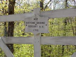 Nye Burying Ground