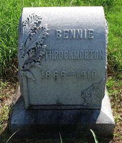 """Dr Benjamin E. """"Bennie"""" Throckmorton"""