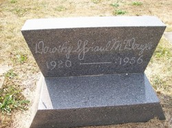 Dorothy <I>Spraul</I> McDougle