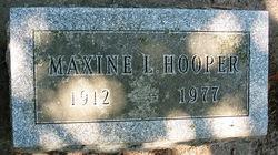Maxine <I>Barker</I> Hooper