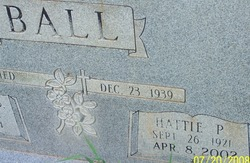 Hattie Pearl <I>Kennedy</I> Ball
