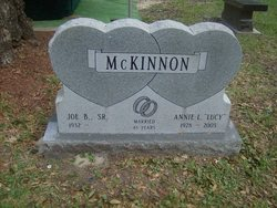 Annie Lucille <I>Meadows</I> McKinnon