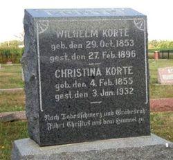 Christina <I>Barner</I> Korte