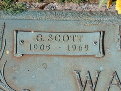 "Gilbert Scott ""Scotty"" Walton"