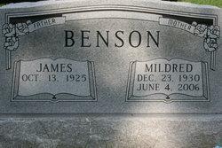 """Lillian Mildred """"Sissy"""" <I>Woodral</I> Benson"""