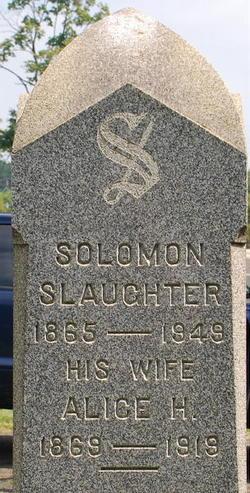 Alice H. <I>Phillips</I> Slaughter