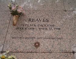 Velma <I>Dickens</I> Reaves