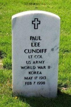 LTC Paul Lee Cundiff