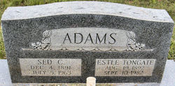 Sed Conley Adams