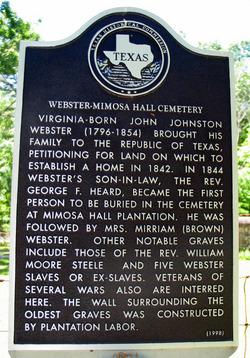 Mimosa Hall Cemetery