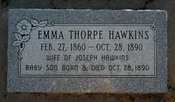 Emma <I>Thorpe</I> Hawkins