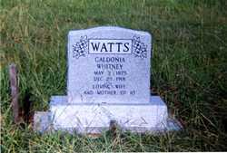 Caldonia <I>Whitney</I> Watts