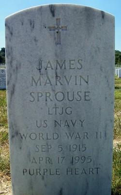 LTJG James Marvin Sprouse