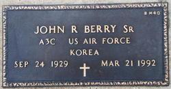 John R Berry, Sr