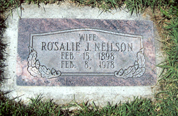 Rosalie <I>Jones</I> Neilson
